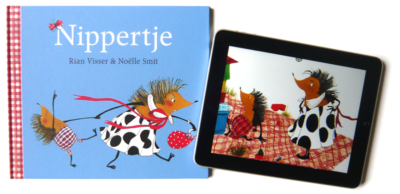 Nippertje prentenboe en iPad
