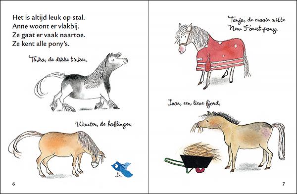 Uit: Sproet, de stoutste pony van stal @ Margriet van Noort