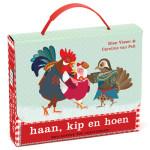 haan, kip en hoen, leeskoffertje