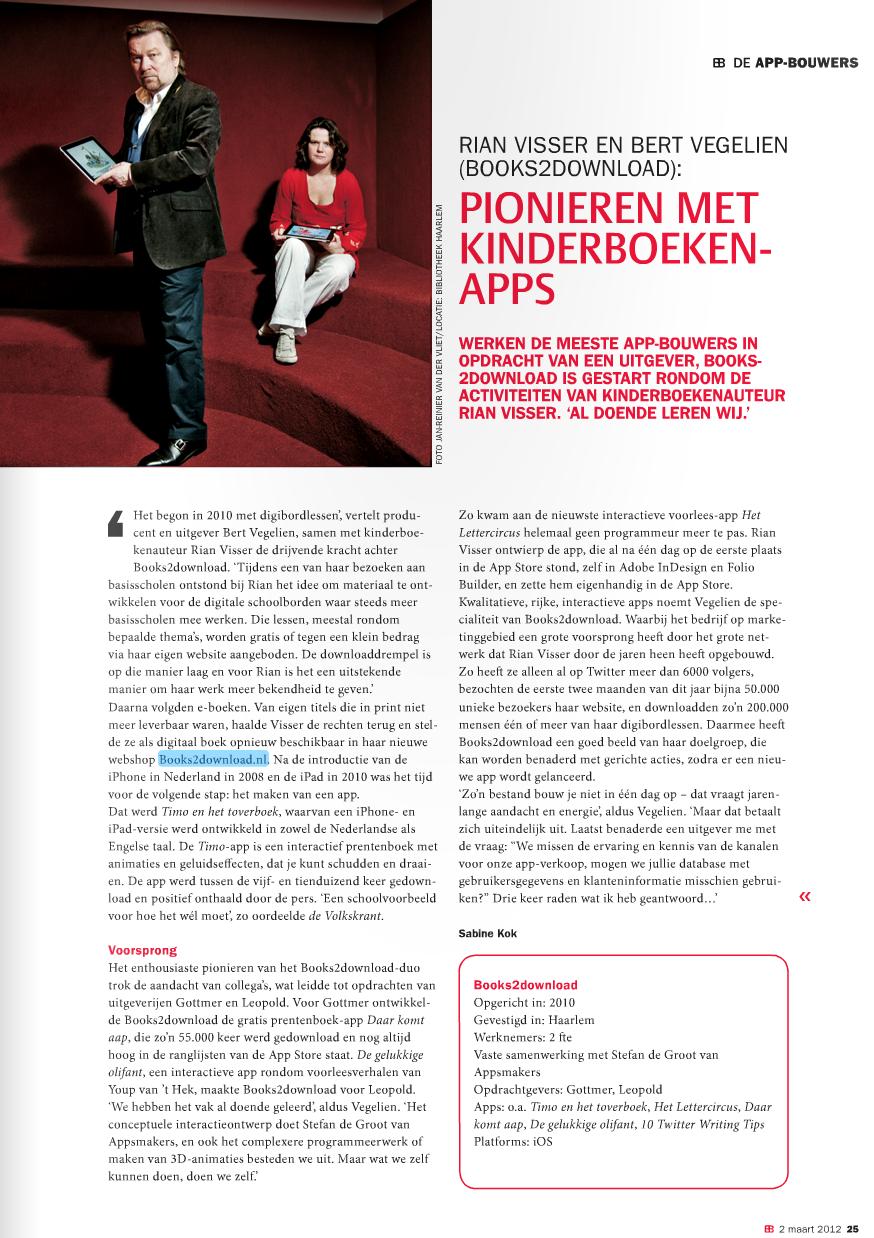 boekblad maart 2012