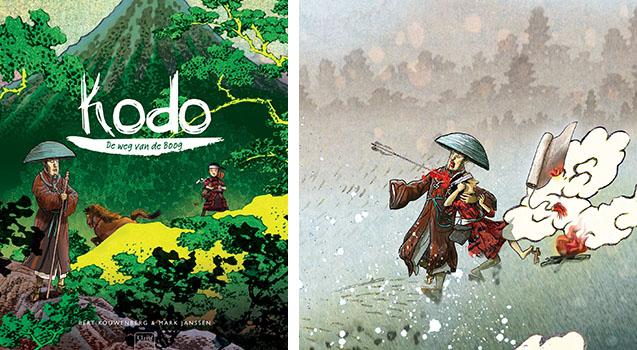 'Kodo, de weg van de boog', Bert Kouwenberg & Mark Janssen, Clavis