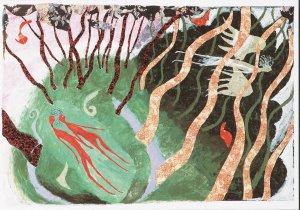 Postcard van Daan Remmerts De Vries (via www.artunlimited.com)