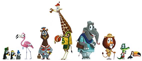 Ziggy and the Zootram, animatieserie voor televisie.